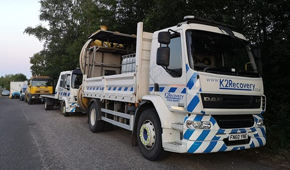 Roadworks Recovery - K2 recovery