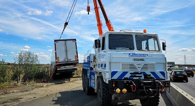 Commercial Vehicle Repair - K2 recovery